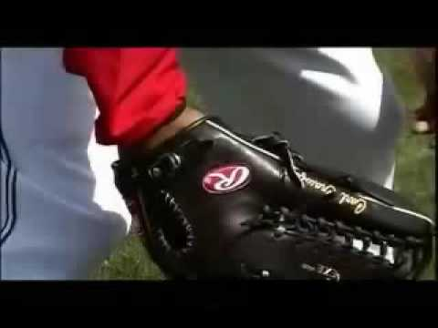 Carl Crawford talks About his baseball glove Video