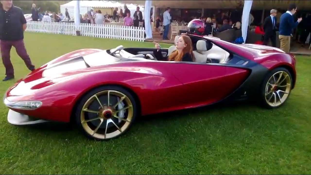 Ferrari Pininfarina Sergio Concept Car Walkaround Hd