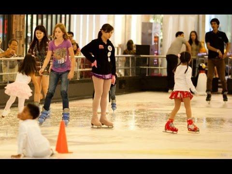 Бангкокский каток в Central World. Bangkok Ice Rink in Central World