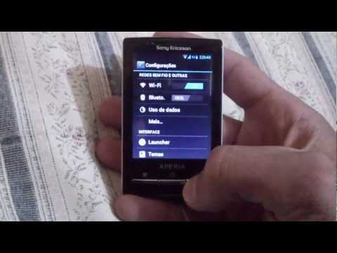 Xperia X10 Mini with Android 4.0.4 - Ice Cream Sandwich