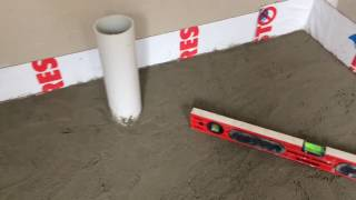 Part 2 How to Make a Concrete Shower Base