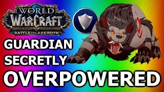 BFA PvP: Guardian Druid is INSANE! - Secretly Overpowered? (Battle for Azeroth 120 Druid PvP)