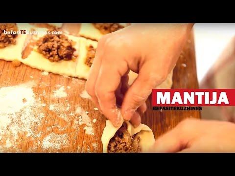 Recetë Mantija (Befasi te Kuzhines)
