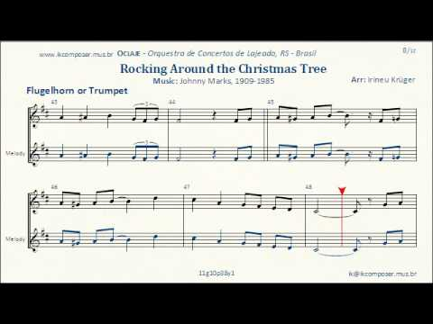 Rockin' Around The Christmas Tree - ( Flugelhorn or Trumpet ...