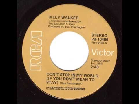 Billy Walker - Ancient History