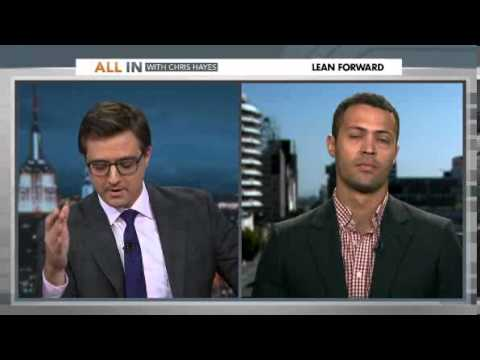 Chris Hayes satirizes how the news talks about black ...