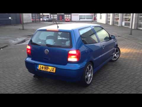 Volkswagen Polo 1.4 RVS Sportuitlaat Op Maat By KCE Sportuitlaat