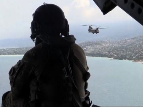 Raw: US Army Delivers Aid in Devastated Haiti