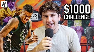 CAN YOU SPELL GIANNIS ANTETOKOUNMPO FOR $1000???