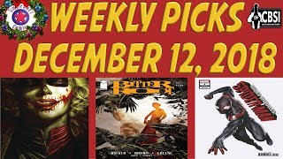 Weekly Picks for New Comic Books Releasing December 12, 2018