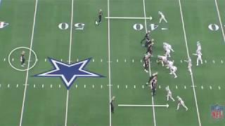 Film Session on Dallas Cowboys Michael Gallup vs New Orleans Saints