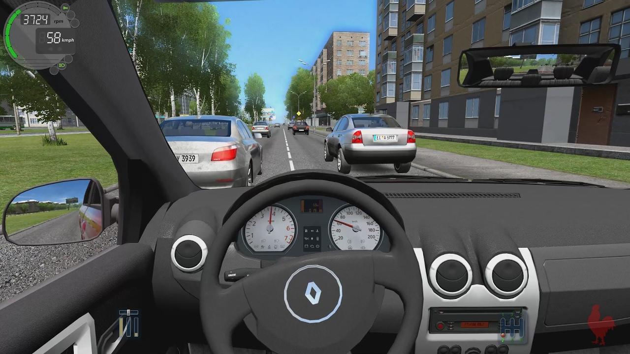 City Car Driving - Другие игры - ETS2MODS 75