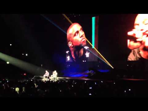 New Day Live in London O2 Arena Watch The Throne Kanye West Jay-Z @dansealo