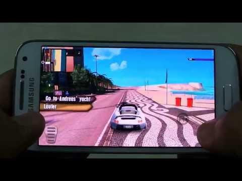 SAMSUNG GALAXY S4 GANGSTAR RIO CITY OF SAINTS GAMEPLAY