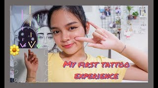 My first tattoo experience & the meaning behind it | Philippines