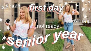 GRWM FIRST DAY OF HIGH SCHOOL (Senior Year!)
