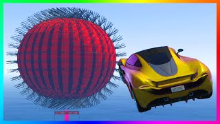 GTA 5 DLC BRAND NEW ULTRA HARD CUSTOM STUNT RACES - MOST WTF INSANE RACE OF ALL TIME & MORE! (GTA V)