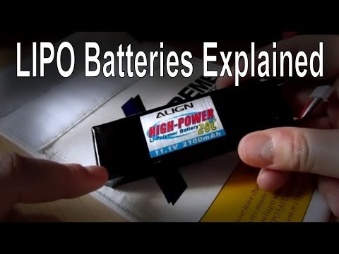 Simple overview of the LIPO battery (LIPO Explained - mAh. C rating etc)