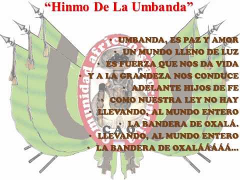"""Himno Umbanda Compaginado Por """"C.A.O."""".- """"Comunidad Africanista Orunmila"""".- """"Mauricio De Bara"""".- Prensa Y Difusión.- ��è OOO.-"""