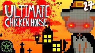 Spooky Halloween Levels - Ultimate Chicken Horse (#27) | Let's Play