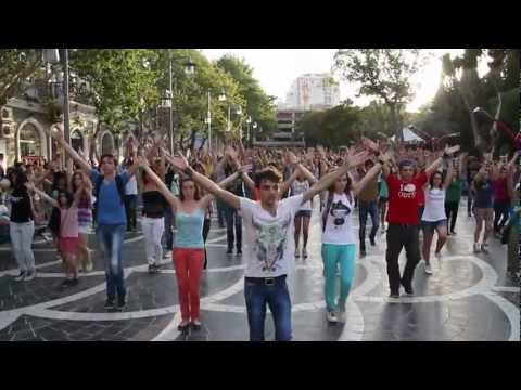 DRILL Flashmob in Baku | FLASHMOB Azerbaijan