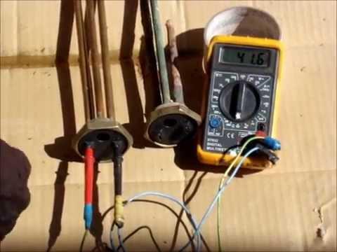Проверка тэна от водонагревателя