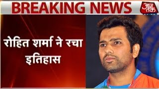 World record: Rohit Sharma hits double century at Kolkata ODI