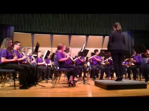 7th grade Blair Middle School band