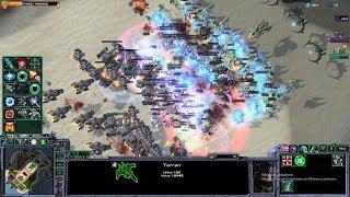 Starcraft 2 - Arcade - Direct Strike - 3vs3 - Terran - #8 - Impossible Comeback