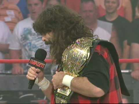 TNA: Mick Foley vs. Rocky Balboa