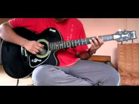 fanaa-mere haath mein on acoustic guitar.flv