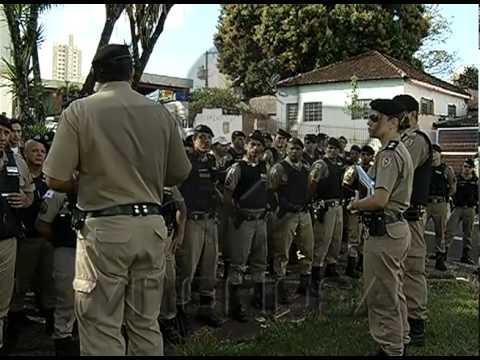 Continua megaoperação da PM contra a criminalidade em Uberlândia