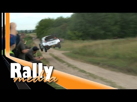 WRC Rally Poland 2016 - Crash + mistakes + high speed! - Best of by Rallymedia