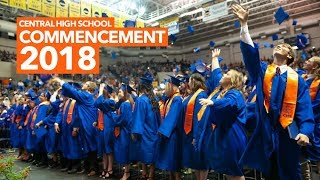 Central High School Graduation Ceremony 2018