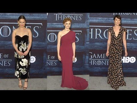 Game Of Thrones Season 6 La Premiere Emilia Clarke Lena