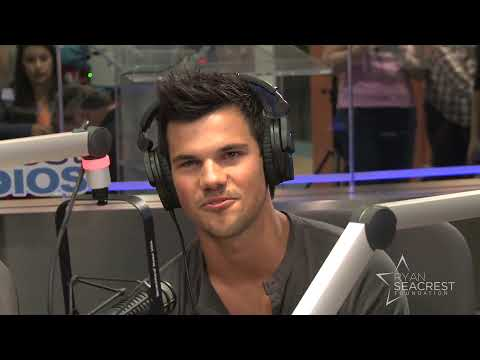 Taylor Lautner Visits Seacrest Studios | Interview | On Air with Ryan Seacrest