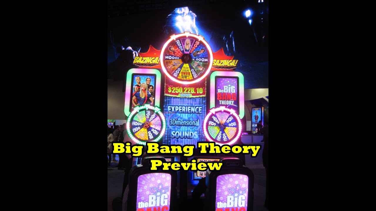 Big Bang Theory Slot Review and Preview Video
