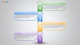 How to professional presentation in PowerPoint - 4 Title
