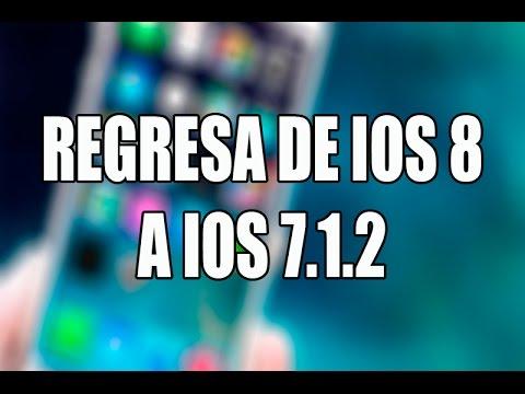 Downgrade iOS 8 a iOS 7   Regresar de iOS 8 a iOS 7.1.2   Bajar iOS