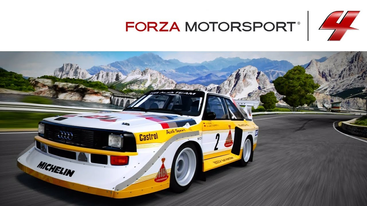 forza 4 1080p audi sport quattro s1 tuned expert february. Black Bedroom Furniture Sets. Home Design Ideas
