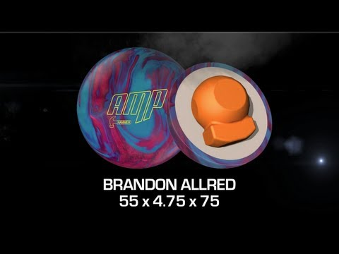 Hammer Amp Bowling Ball Thrown by Brandon Allred of K&K Bowling Services