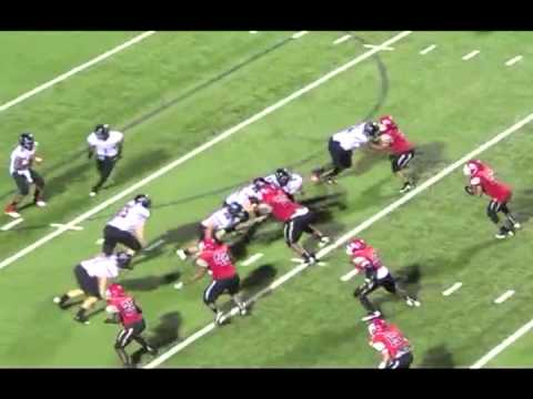 OC Beasley - Waco High School 2012-13 Football Highlights