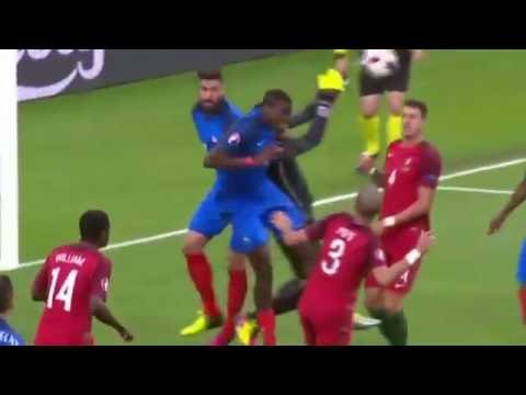 Portugal 1 X 0 França  Melhores Momentos - EUROCOPA 2016