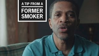 CDC: Tips from Former Smokers - Roosevelt's Ad