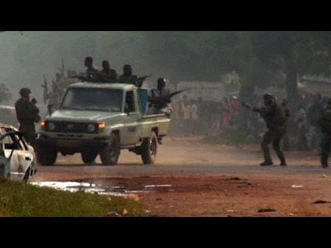 AU troops from Chad 'fire on crowd' in Central African Republic