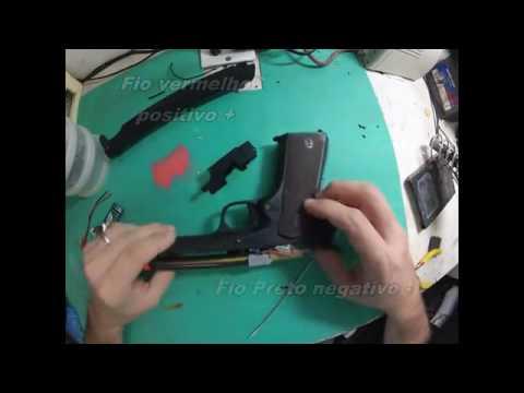 Bateria Turnigy Nanotech Airsoft Lipo 300mah 2s 7.4v 35c / 70c