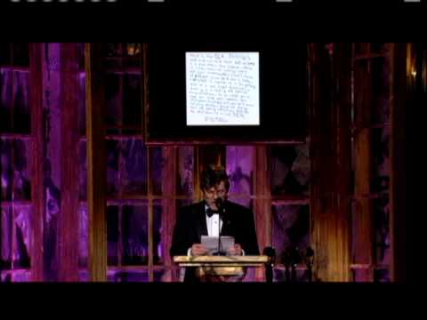 Jann Wenner accepts for Sex Pistols 2006