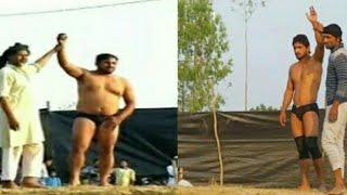 MOUSAM ALI V!!S JAGAWAR SING KUSHTI MAHA MUKBALA GHANA BEHAT SAHARANPUR DANGAL KUSHTI