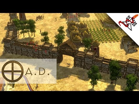 0 A.D. - 1vs1 THE ROMAN EXPANSION   Multiplayer Gameplay