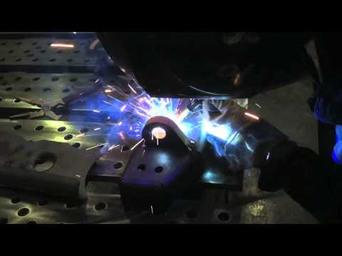 Hobart Mig Welder / SWAG off Road Bumper Project
